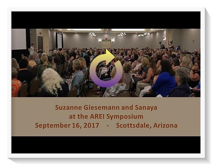 Suzanne Giesemann channels Sanaya at AREI